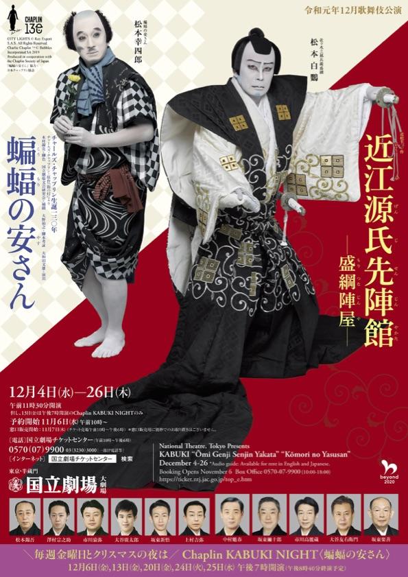 初春歌舞伎公演(国立劇場)